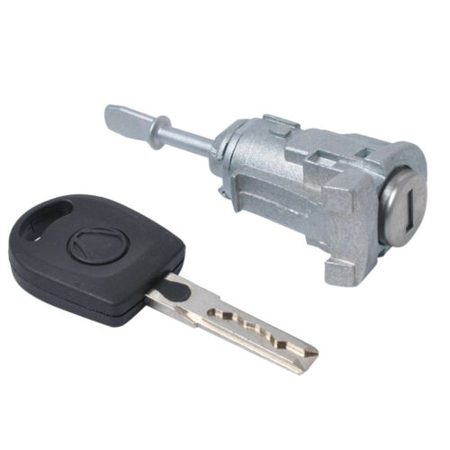 Auto Door Lock Cylinder Front Left Side With Key Fits for VW Polo Bora 97-05