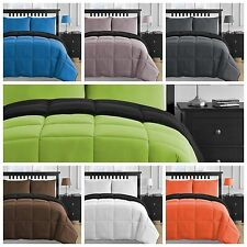 Breathable and Soft Microfiber Twin Queen & King Reversible Comforter Set