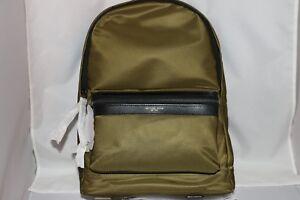 88ea0b6bb421 Michael Kors Kent Lightweight Nylon Backpack - Military 191262377402 ...