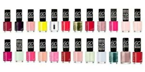 Rimmel London 60 Seconds Nail Polish Choose Your Shade 315 323 345 415 500 New by Rimmel