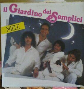 Vinyl LP album: Il Giardino dei Semplici - Miele [nuovo da negozio]