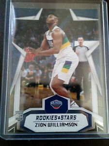 2019-20 Chronicles Zion Williamson RC Rookies & Stars Base #699