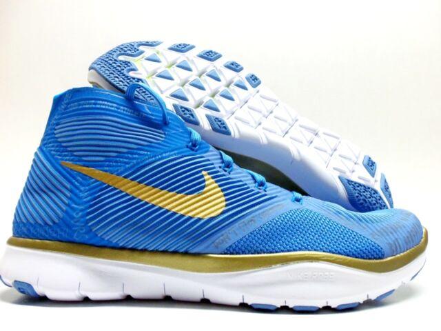 e8a296a4e146 Nike Train Instinct Hart Hustle Hart Blue gold Size Men 7 848416-474 ...