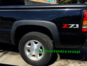 Details About 1999 2006 Chevy Silverado 2500hd Factory Style Fender Flares 4 Pieces A Set