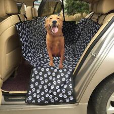 Pet Dog Footprint Mat Car Suv Seat Dog Cat Rear Back Seat Protect Cover Cushion
