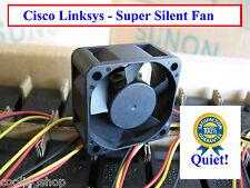 Quiet! Cisco Linksys SRW2024 Fan Replacement (New) Sunon MagLev 12dBA Noise