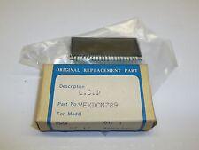 Panasonic Matsushita AM FM Stereo LCD CQE402EU CQR910EC YEXDCM789 NIB