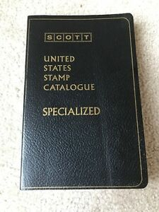 1976 SCOTT Specialized Catalogue of United States Stamps 54th Edition Book