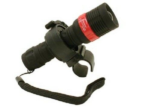 Out Function LED Bike Light with Quick Release Bracket Super Bright Zoom In