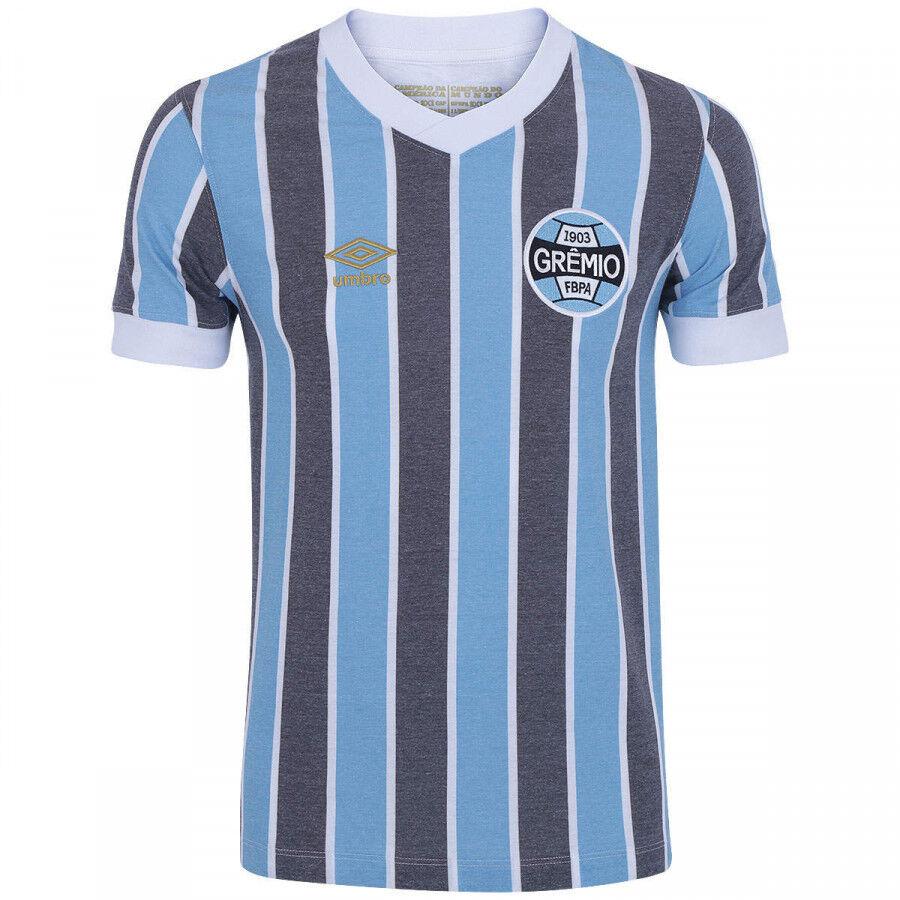 Gremio Retro 1983 Hogar fútbol Jersey Camisa de fútbol - 2018 Brasil Umbro