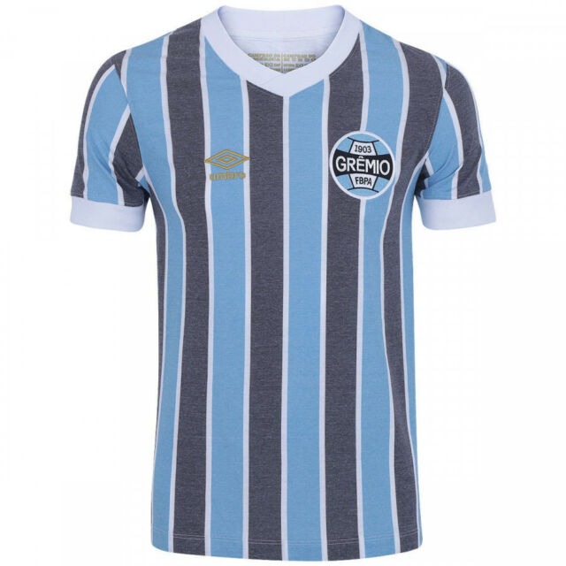 Gremio Retro 1983 Home Soccer Football Jersey Shirt - 2018 Umbro Brazil 1561f7d0c