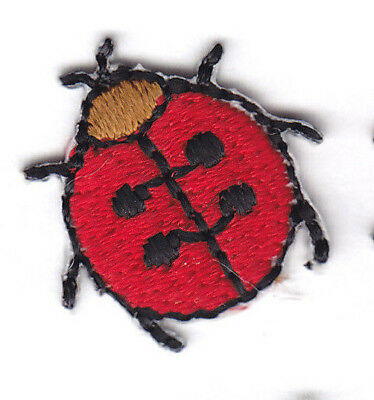 Ladybug Tiny l Insect Ladybugs Iron On Embroidered Patch Applique 1