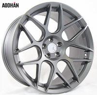 18x9 Aodhan Ls002 Rims 5x120 +30 Gun Metal Wheels Fits Lexus Ls460 2007-16 on Sale