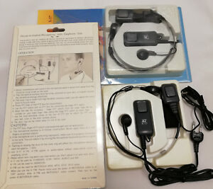 Audio Micro Auricular De Traquea, Aislador Ruido Ambiente Neck X17, Lote 3 Unid.