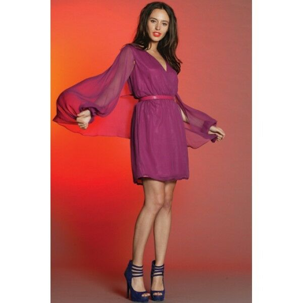 PINK RUBY - Gigi Bell Sleeve Dress Clearance BNWT