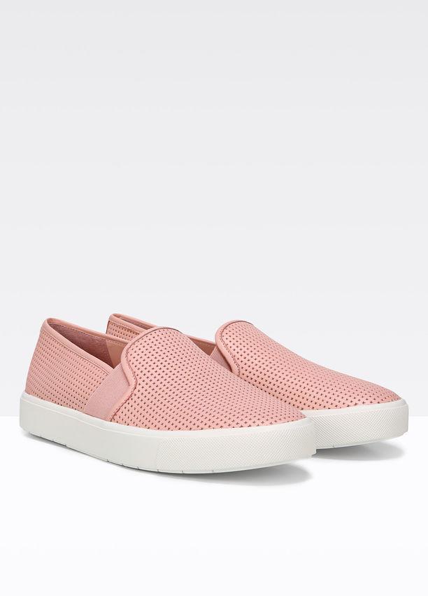 V V V Nuevo en Caja Vince Blair 5 Mujeres Cuero Perforado Zapatillas Zapatos Talla 9.5 en rosado  195  precios razonables