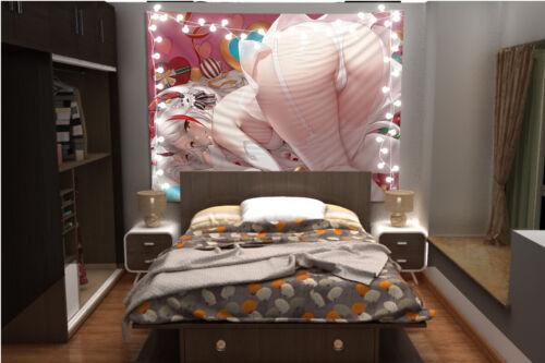 Azur Lane Prinz Eugen Wandteppich Kunst Wandbehang Tisch Bettdecke Wohnkultur