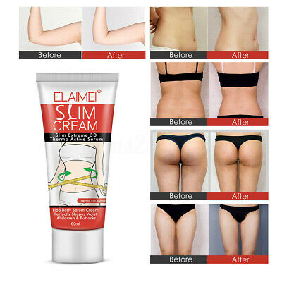 Women Fat Burning Slimming Cream Cellulite Removal Belly Body Shape Weight Loss Ebay