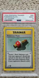 Pokemon-Flute-86-102-1st-Edition-Base-Set-PSA-9-1999-Pokemon-Game-Shadowless