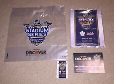 97d7ce66b 2018 Washington Capitals Toronto Maple Leafs NHL Stadium Series Program Lot  Fan