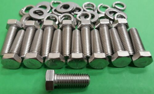 Triumph Stag V8 Engine Stainless Exhaust Manifold Fitting Bolts Kit EXTRA BOLT