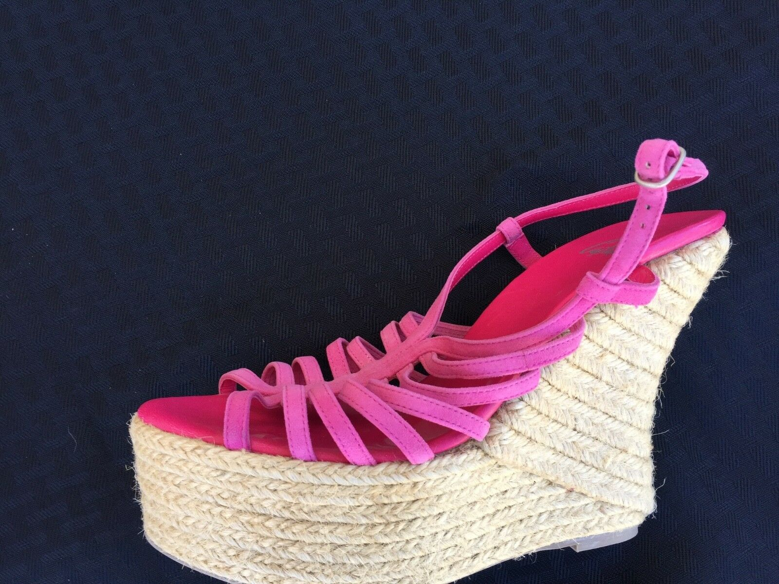 NWOT CATAMER HOT PINK WEDGES  180 WOW