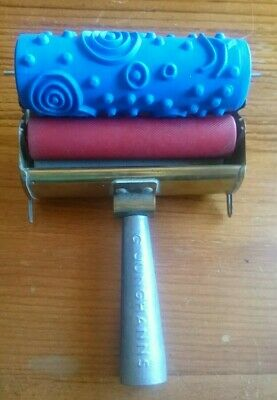 Vintage Junghanns Decorative Paint Roller 1950's Suitable For Men And Women Of All Ages In All Seasons