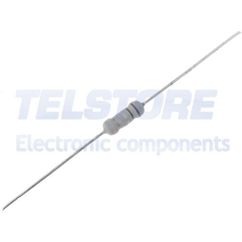 20pcs 1W-82R Resistenza metal oxide THT 82 ohm 1W ±5/% Ø4x10mm Usc assiali ROYAL
