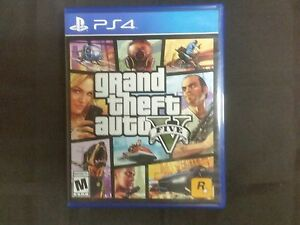 replacement case no game grand theft auto v gta 5 with map playstation 4 ps4 ebay. Black Bedroom Furniture Sets. Home Design Ideas
