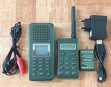Richiamo Uccelli Mp3 con telecomando 200mt potente caccia -tordo quaglia ecc