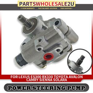 Power Steering Pump For Toyota Camry Avalon Sienna Lexus 2.4L 3.0L 3.3L 21-5931