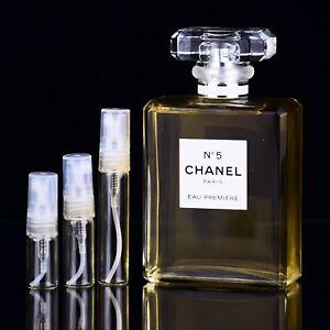 Chanel No 5 Eau Premiere Parfum Sample 2ml 3ml 5ml Perfume Ebay