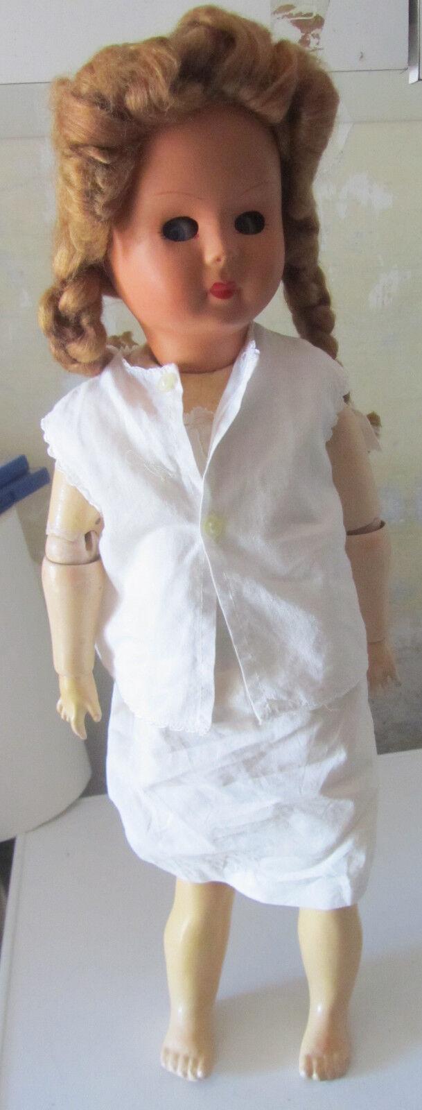 Bambola Corpo in legno DA RESTAURO SPESE GRATIS