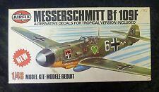 Airfix Messerschmitt BF109F 1/48 Scale Aircraft Model Kit