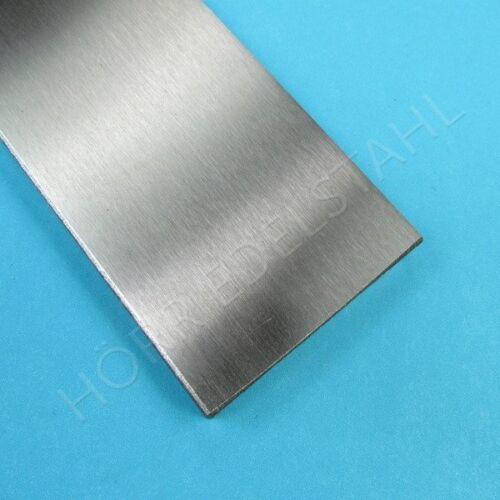 50 cm piatti 60x10 piatto in acciaio INOX levigato v2a