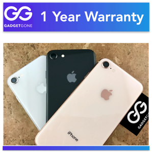 *Very Good* Apple iPhone 8 | ATT T-Mobile Verizon CDMA & GSM Unlocked 64GB 256GB