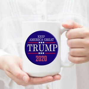 Trump 2020 Keep America Great - Ceramic Coffee Mug Tea Cup White Mug