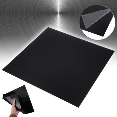 300*300*0.5mm Black ABS Plastic Flat Sheet Flexible Smooth Back High Quality Kit