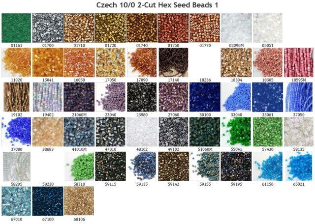 Czech Seed Beads 40Gr Vials 10//0 Silver Lined Teal