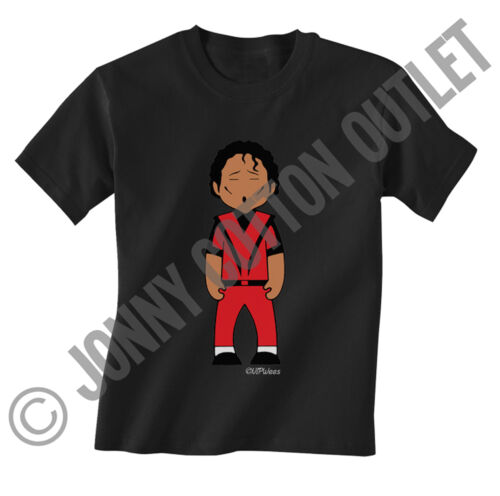 VIPwees Childrens T-shirt Male Solo Artists Music Caricatures Choose Design