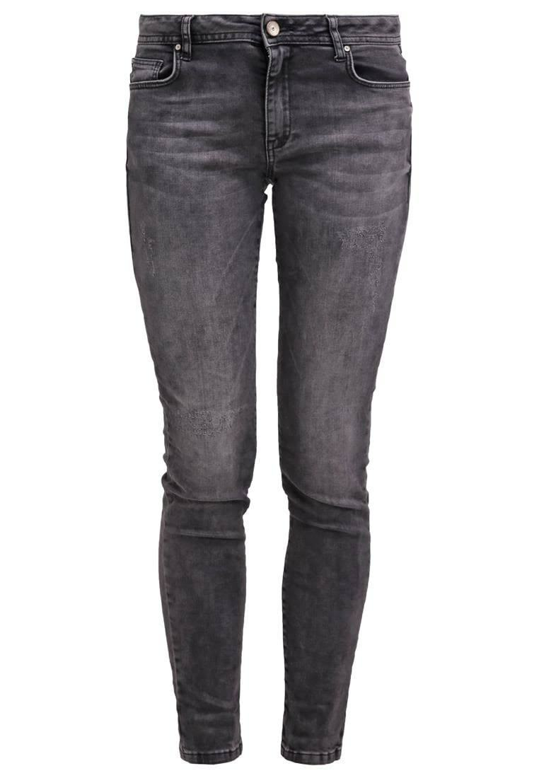 Betty & Co Wrinkle Finish Lou Jeans schwarz Größe 42 (UK16) LF074 AA 14