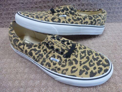 Vans Color Hombre Leopardo van auténtico Zapatos Doren Negro qqFrfgWawn