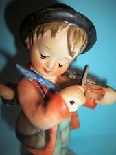 "Little Fiddler Hummel # 4  TMK 3 - 5""Tall-Fiddle in Hand, Umbrella on his Back!"