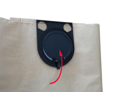 676 5 Staubsaugerbeutel Filterbeutel für Metabo ASA 1202 mehrlagig