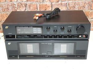 SANSUI c-1000 hochwertiger Vintage Hi Fi Pre Amplifier & b-3000 Endstufe