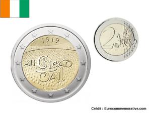 2 Euros Commémorative Irlande 2019 Dail Éireann UNC