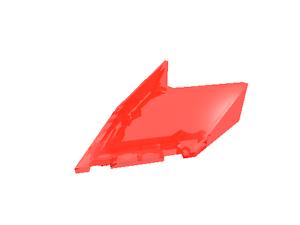 neu transparent-neonorange 2 x 22483 LEGO Windschutzscheibe 6 x 4 x 1 1/3