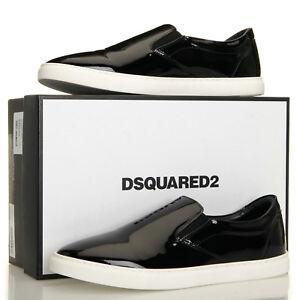 DSQUARED2 Taglia Black Patent Leather