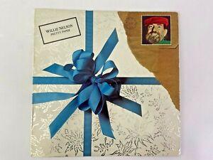 Willie Nelson Pretty Paper Vinyl LP Record Album Columbia 1979 Christmas