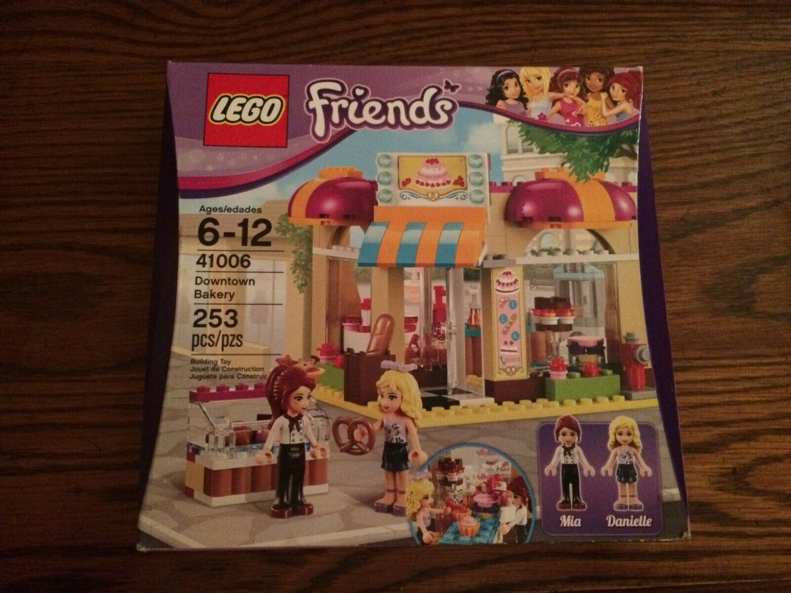 LEGO 41006 Downtown Bakery from the LEGO Friends Series New in Box